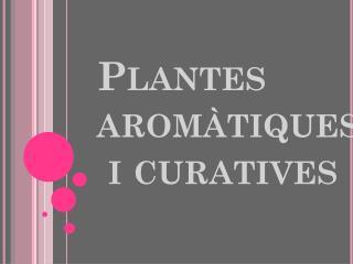 Plantes aromàtiques  i curatives
