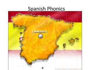 Spanish Phonics