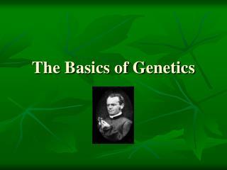 The Basics of Genetics