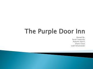 The Purple Door Inn
