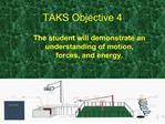 TAKS Objective 4