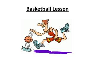 Basketball Lesson
