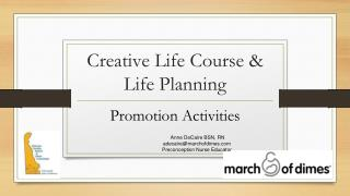 Creative Life Course & Life Planning