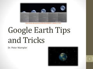 Google Earth Tips and Tricks