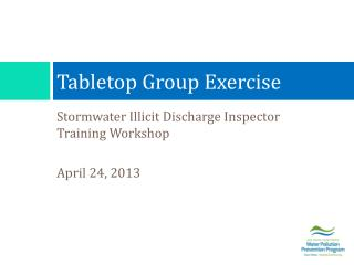 Tabletop Group Exercise