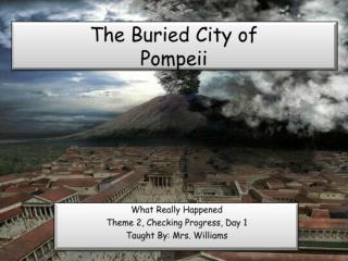 The Buried City of Pompeii