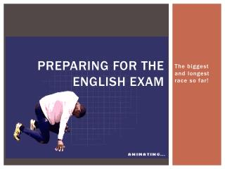 Preparing for the English Exam
