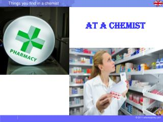 At a Chemist