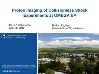 Proton Imaging of Collisionless Shock Experiments at OMEGA EP
