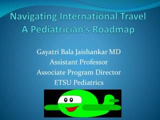 Navigating International Travel  A Pediatrician's Roadmap