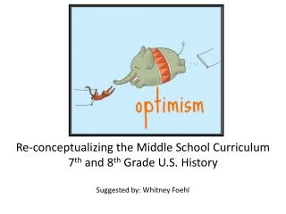 Re-conceptualizing the Middle School Curriculum 7 th  and 8 th  Grade U.S. History