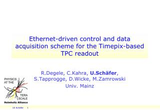 Ethernet-driven control and data acquisition scheme for the Timepix-based TPC readout