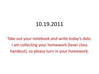 10.19.2011