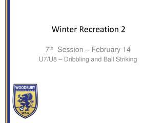 Winter Recreation 2