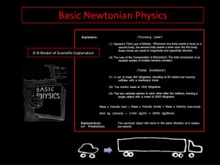 Basic Newtonian Physics