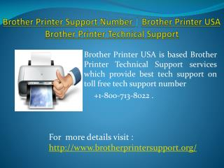 Brother Printer Support Number | Brother Printer USA | Broth