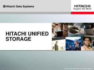 Hitachi unified storage