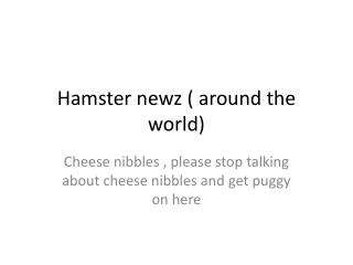 Hamster  newz  ( around the world)
