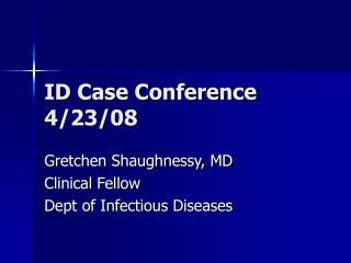 ID Case Conference 4