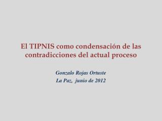 El TIPNIS como condensación de las contradicciones del actual proceso
