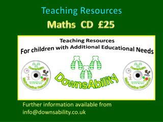 Maths   CD  £25