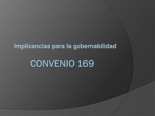 Convenio 169