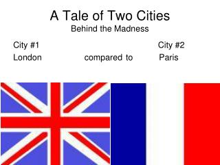 A Tale of Two Cities Behind the Madness