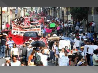 MARCHA DEL 1o. DE MAYO