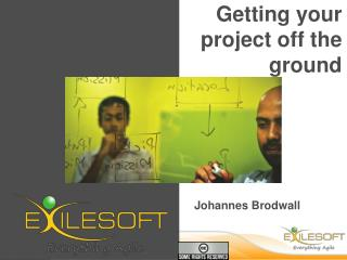 Getting your project off the ground