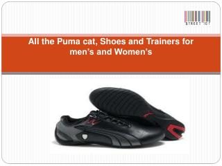 Men's Puma trainers with Ferrari shoes