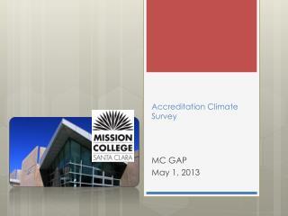 Accreditation Climate Survey