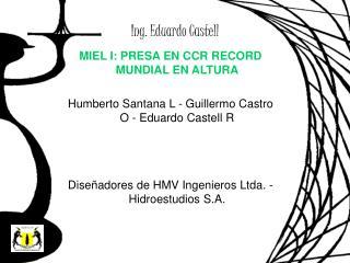 Ing. Eduardo Castell