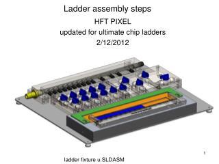 Ladder assembly steps