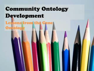 Community Ontology Development