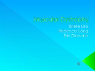 Muscular Dystrophy