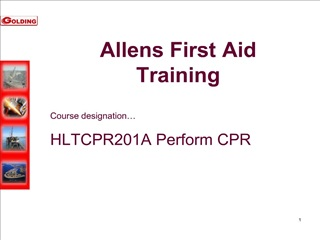 Allens First Aid Training