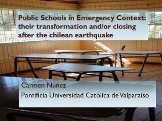 Carmen  Núñez Pontificia  Universidad  Católica  de Valparaíso