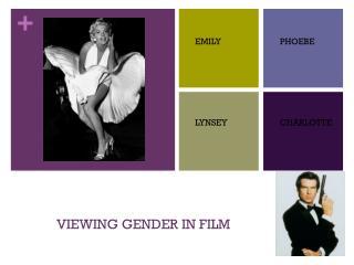 VIEWING GENDER IN FILM