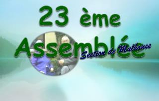 23 ème Assemblée Générale
