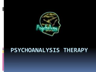 Psychoanalysis Therapy