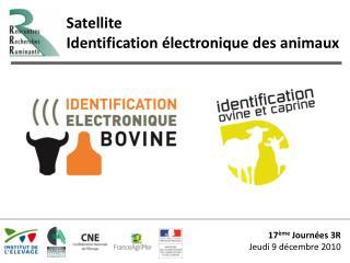 17 ème  Journées 3R Jeudi 9 décembre 2010