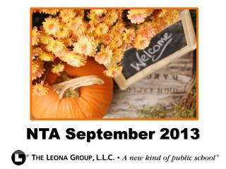 NTA September 2013