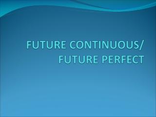 L expression du futur