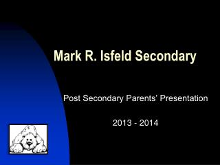Mark R. Isfeld Secondary