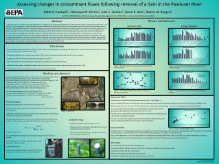 Assessing changes in contaminant fluxes following removal of a dam in the Pawtuxet River