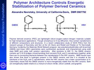 Polymer Architecture Controls Energetic Stabilization of  Polymer Derived Ceramics