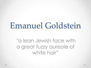 Emanuel Goldstein