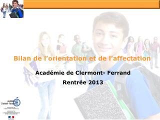 Acad�mie de Clermont- Ferrand  Rentr�e 2013