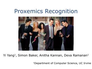 Proxemics Recognition
