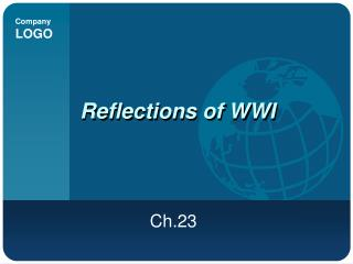 Reflections of WWI